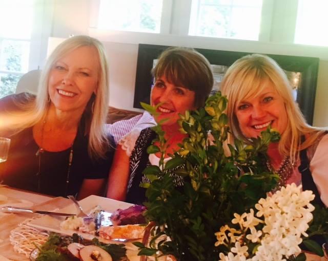 (Kary's photo) Gracia, Mari Lee, and Heidi