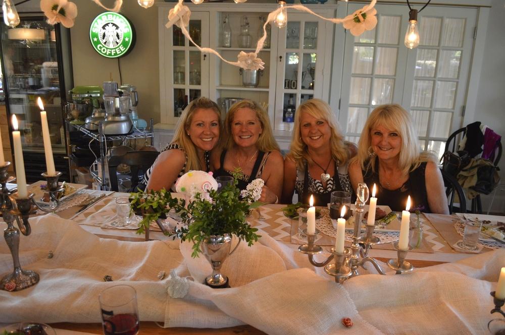 Heidi, Rhonda, Claire, and Jill