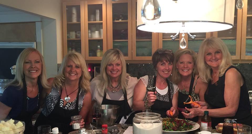 Gracia, Claire, Heidi, MariLee, Rhonda, and Jill...
