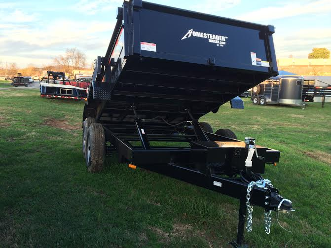 14' x 7' Dump with 7K Axles and Equipment