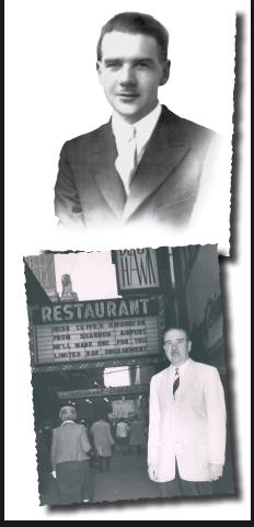 Irish Chef Joe Sheridan who created the Irish Coffee
