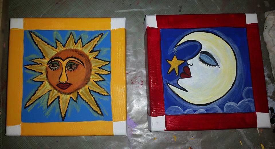 Some of Georgina's work