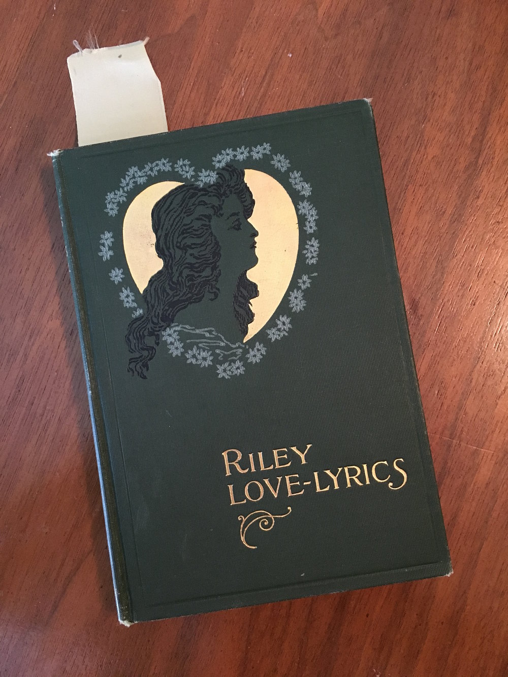 Riley Love-Lyrics, by John Whitcomb Riley 1905 edition