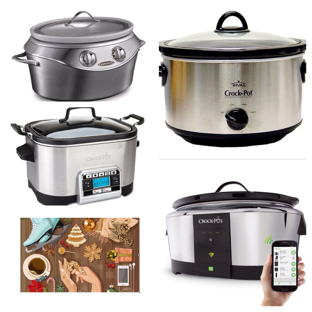 So many styles of crock pots available.