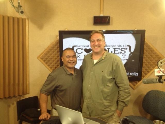 Waa'gey's Larry Raigetal and Travis Coffman of Guam's K57.jpg