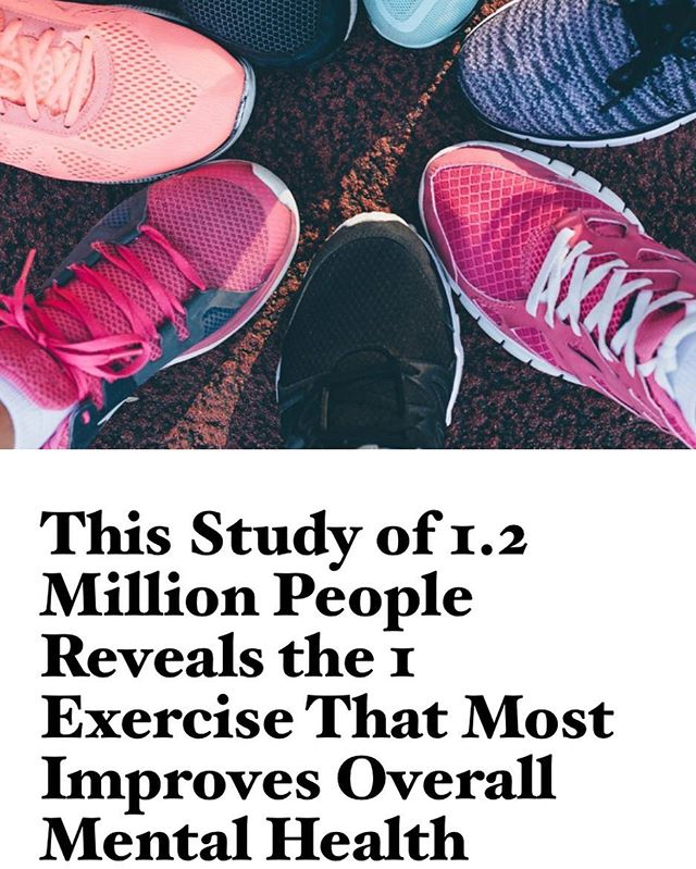 "This article is a great reminder to take care of yourself & make exercise a part of your daily routine! Link in bio 👍 . ""This is very strong evidence that there is a relationship between exercise and mental health. It seems like there are some sweet spots, and the relationship is probably complex. But even things like walking or household chores seem to have benefits."" - Dr. Adam Chekroud"