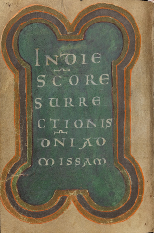 Einsiedeln, Stiftsbibliothek, Codex 121(1151), p. 204 – Graduale – Notkeri Sequentiae