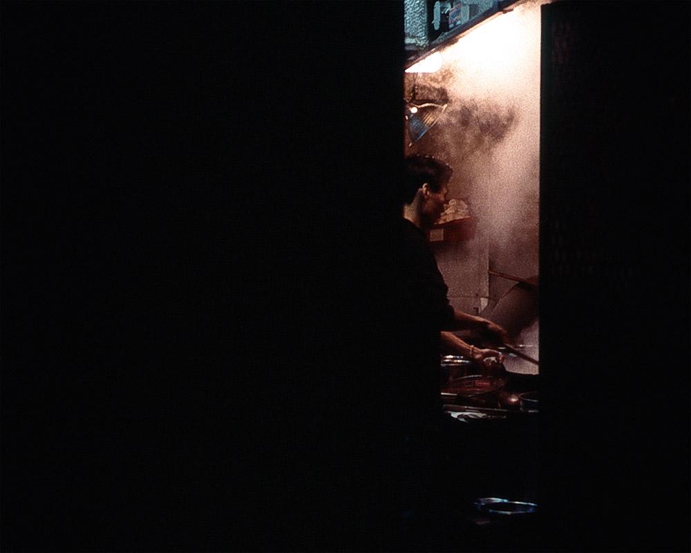 Street view into a Chinatown Restaurant. Philadelphia, PA 2007