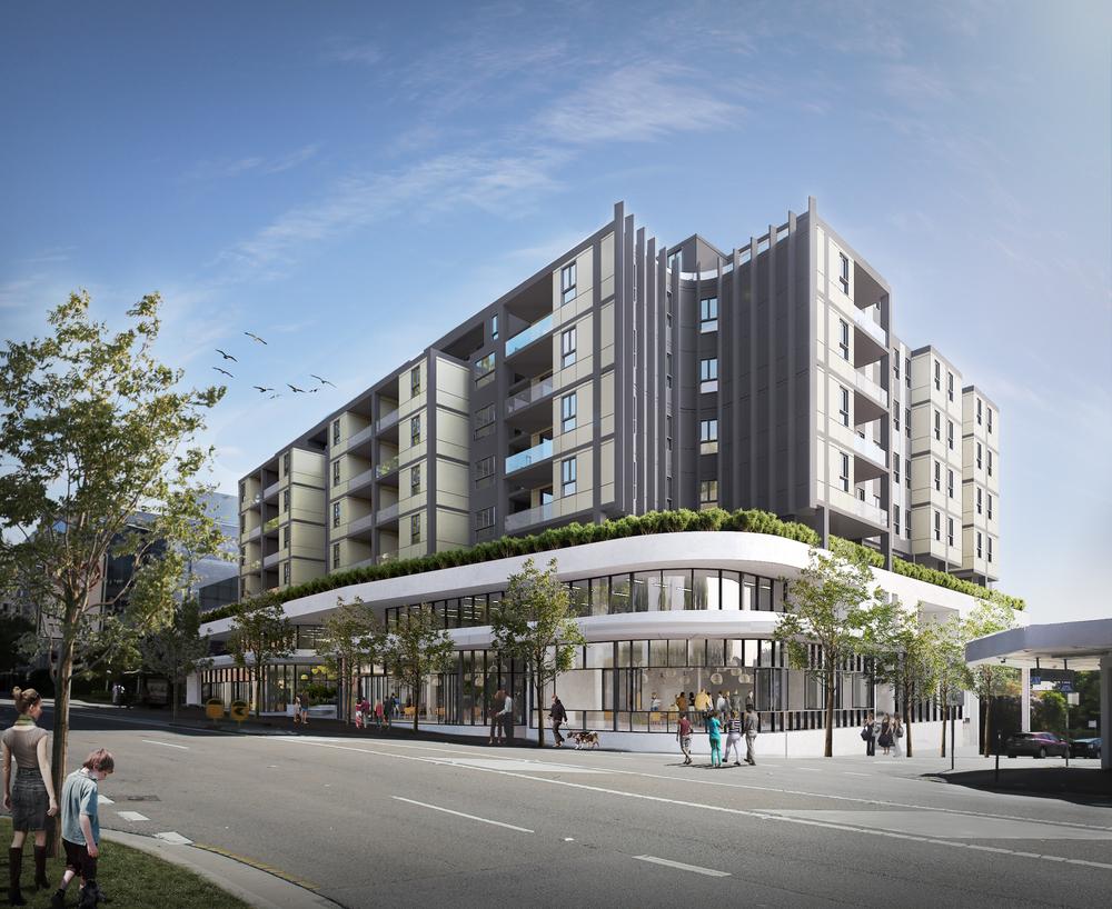 Parramatta bureau srh u2014 architectural rendering sydney