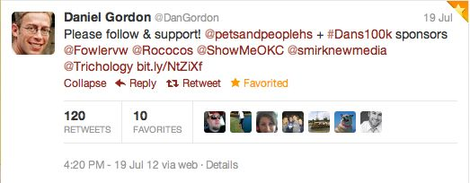 Tweet DanGordon