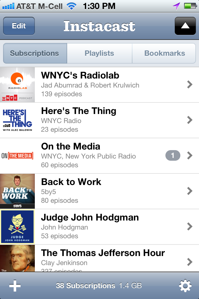 My favorite 5 podcast subscriptions