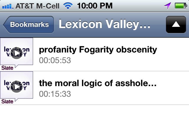 Siri hears vulgarity as Fogarity