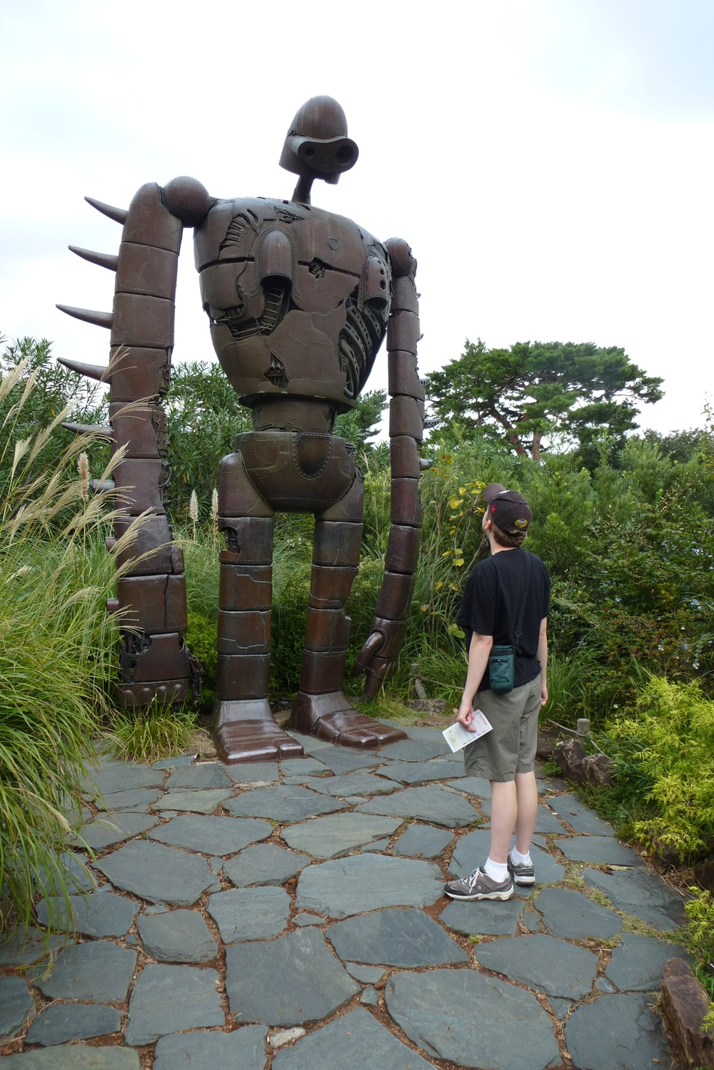 Robot on the roof at Ghibli Museum