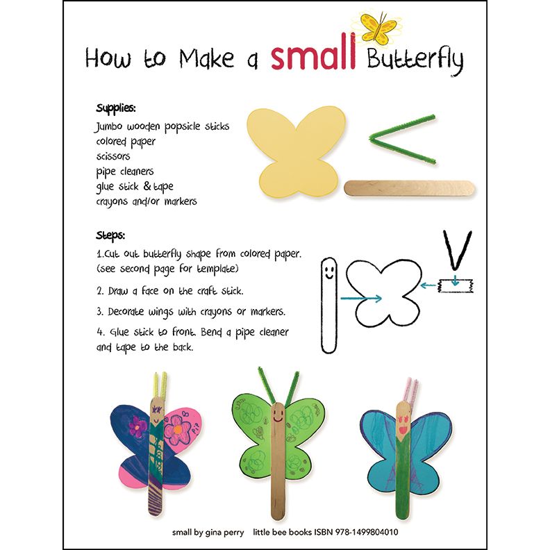 Make a SMALL Butterfly