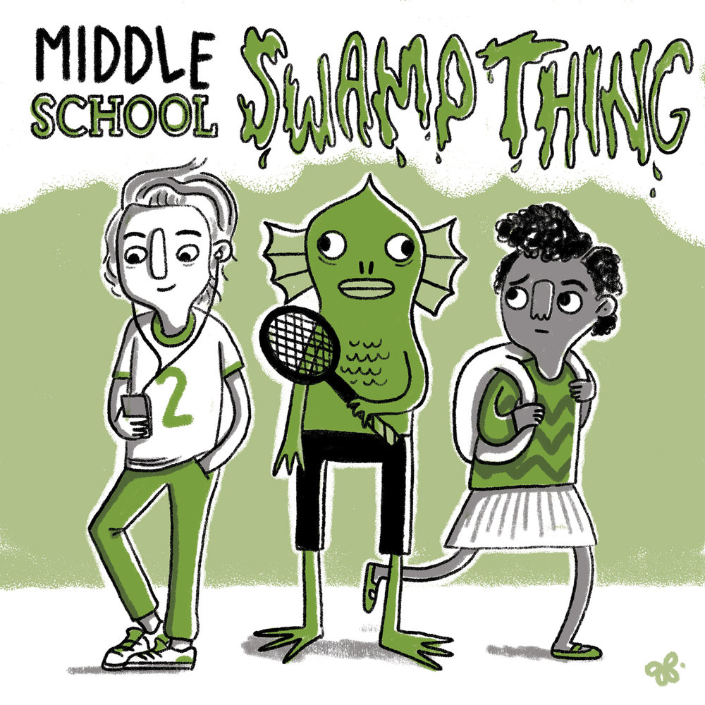 Middle School Swamp Thing