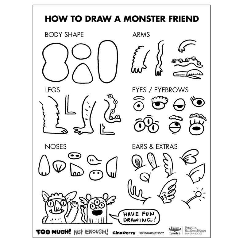 HOW-TO-DRAW: Monster Friend