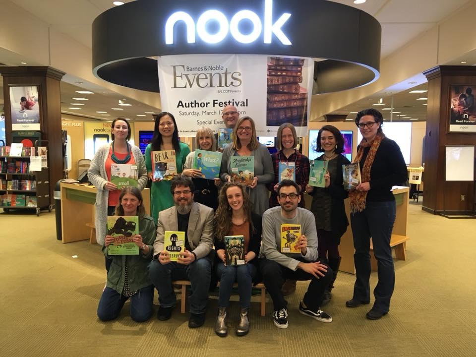 Barnes & Noble Framingham, MA Author Fair
