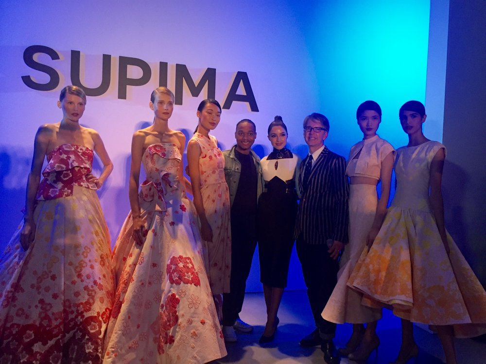 Supima Designer Competition winner - Jeffrey Taylor.