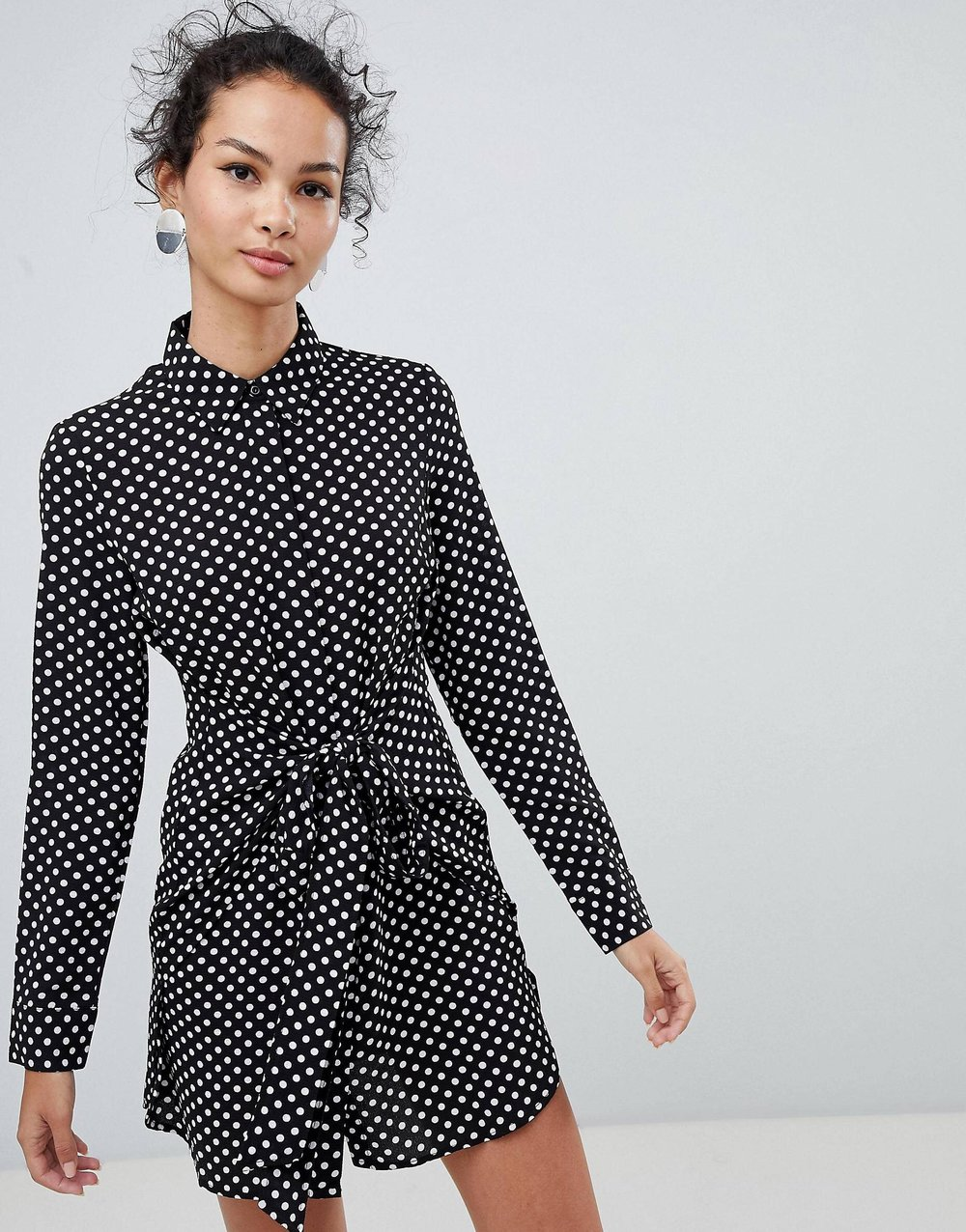 Shirt dress, QED London, $32.  Find it  here .