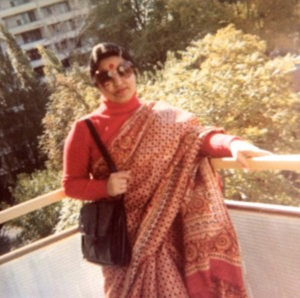 My mother, Indu Sethi in 1970s Toronto, Canada.
