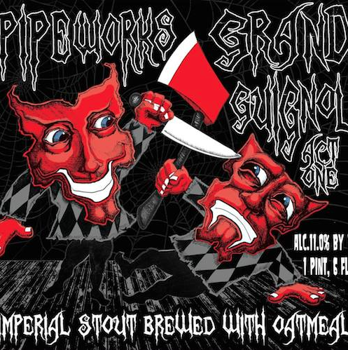 Grand Guignol Act One Imperial Oatmeal Stout