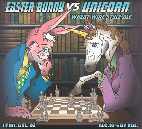 Easter Bunny vs Unicorn  Wheat Wine