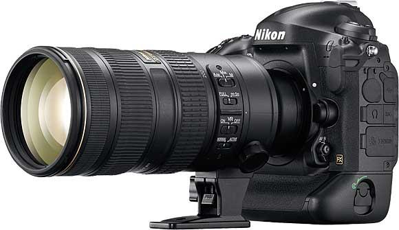 Nikon 70-200mm VRII on D4s