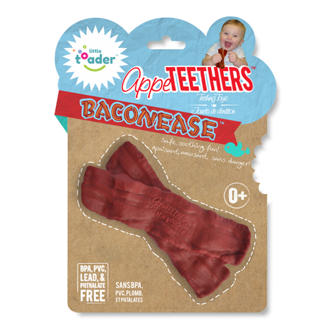 Baconease-Bacon teether