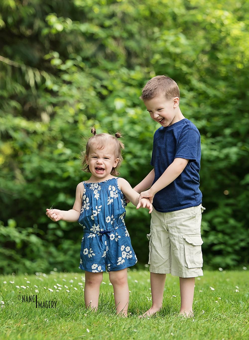Sibling love, Nanci Imagery