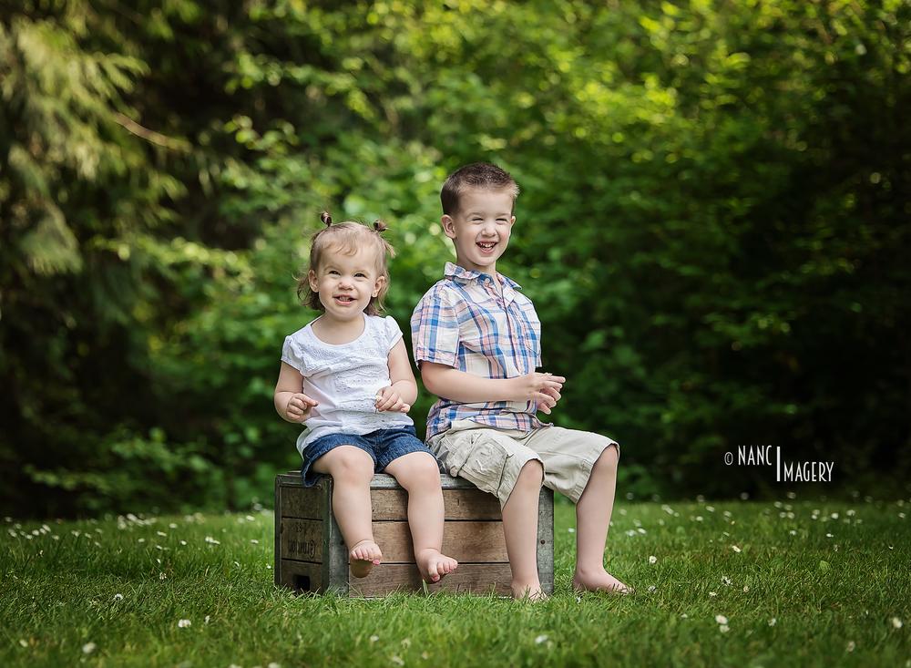 Siblings, Nanci Imagery
