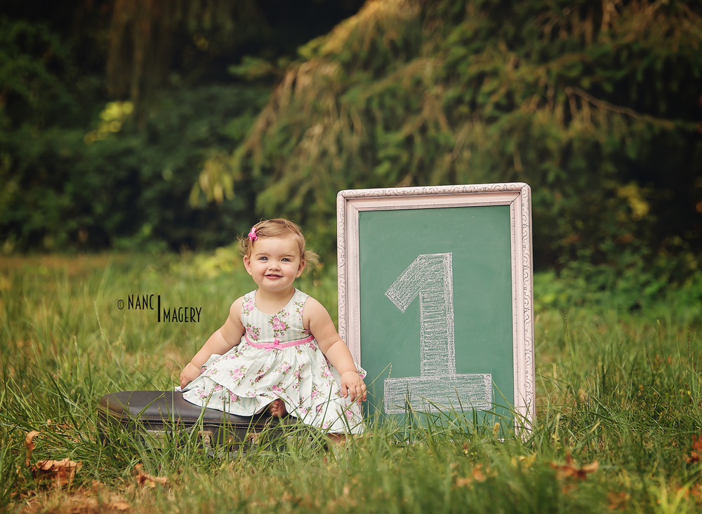 Nanci Imagery Blog, First birthday