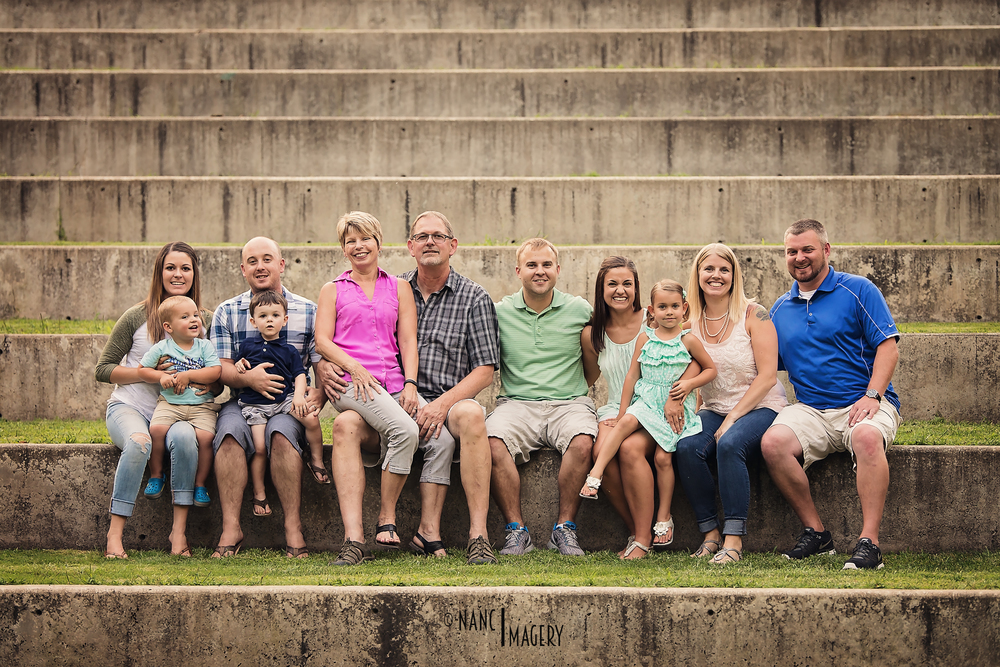 Family Session, George Fox University