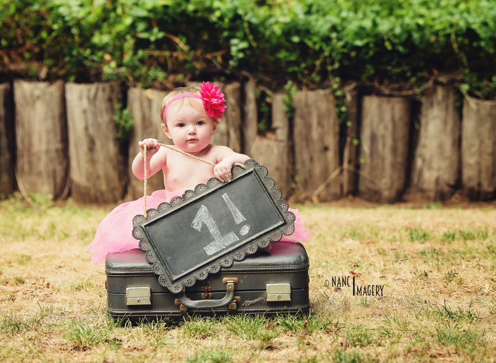 First birthday, Nanci Imagery