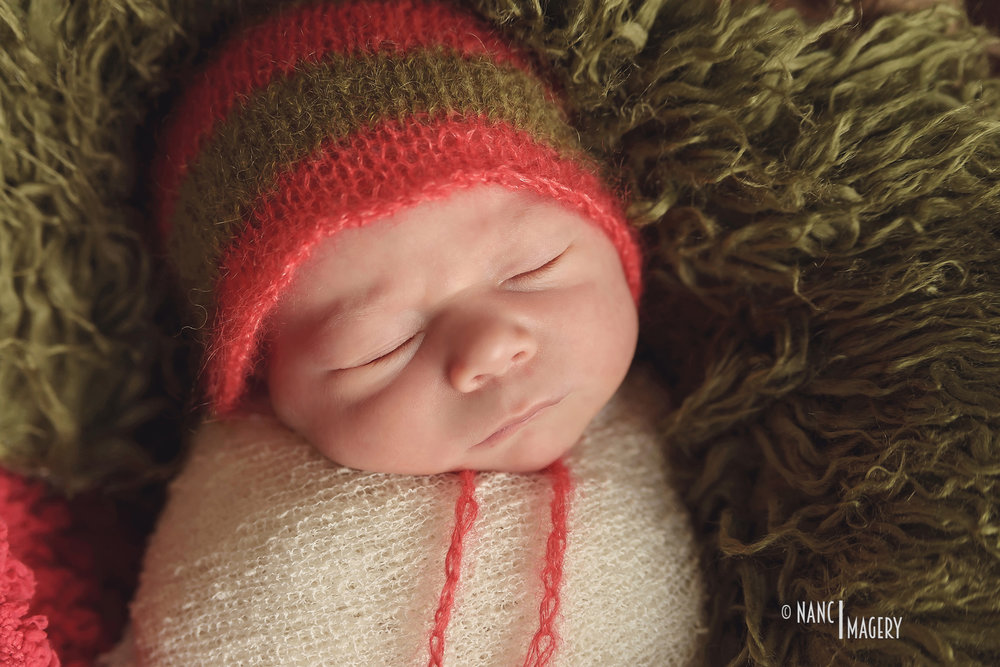 Christmas Newborn Baby Photography