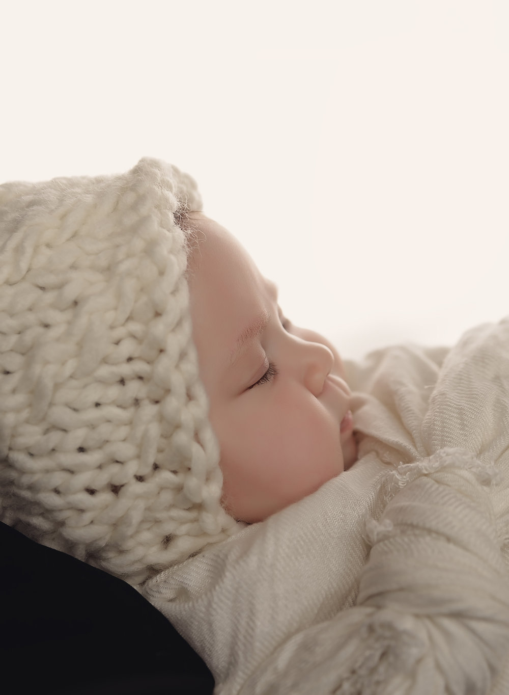 backlit newborn