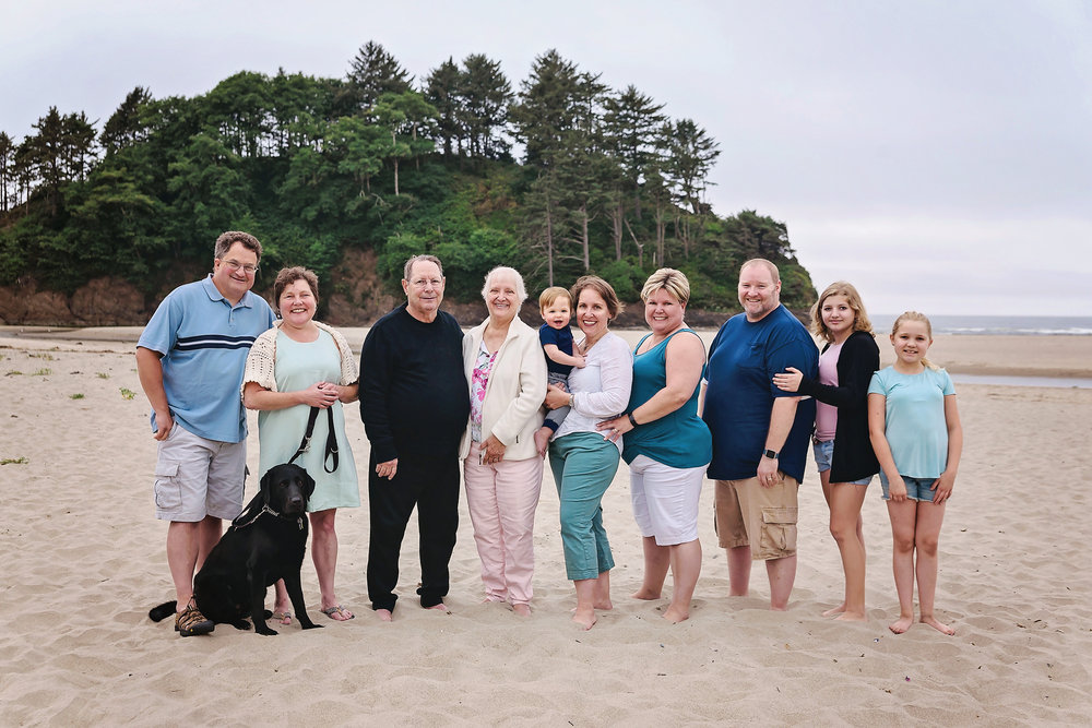 Extended Family Beach Portraits