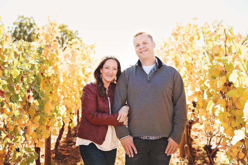 Couple Vineyard Portrait