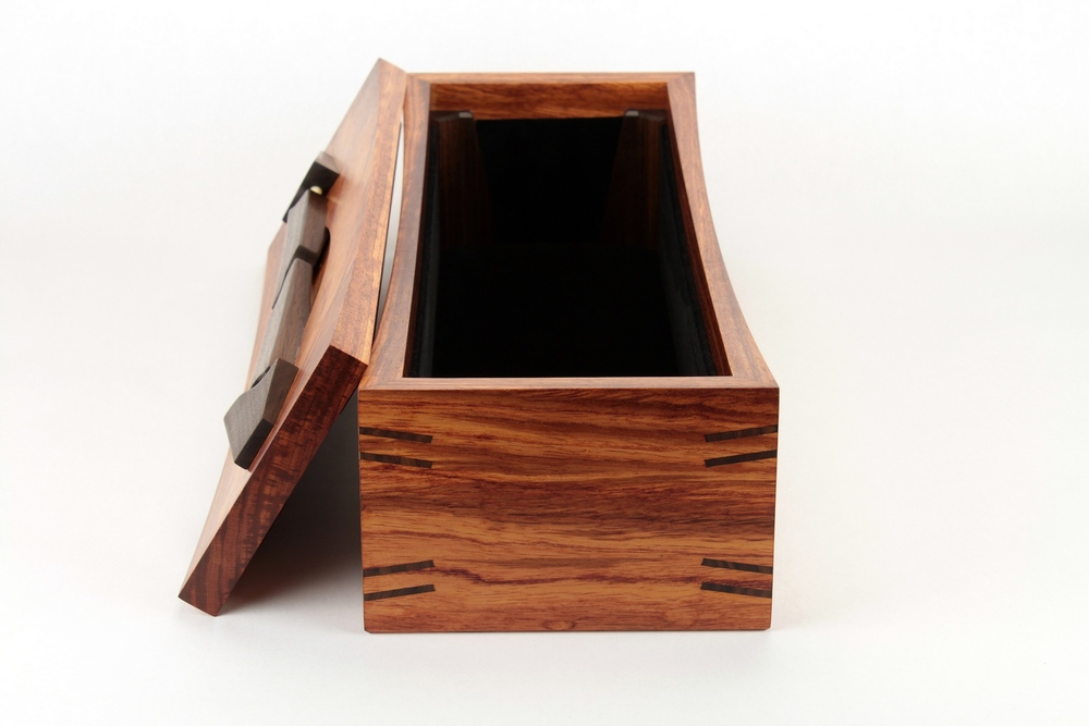 black vevlet bubinga long box
