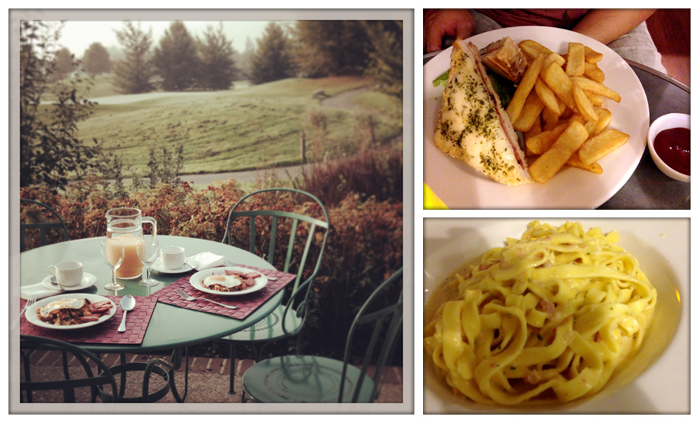 "Marne-la-Vallée Breakfast in the French ""countryside""  