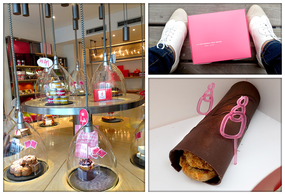 La Pâtisserie des Rêves | LOOK AT THAT BEAUTIFUL PINK BOX! | Eclair au chocolat