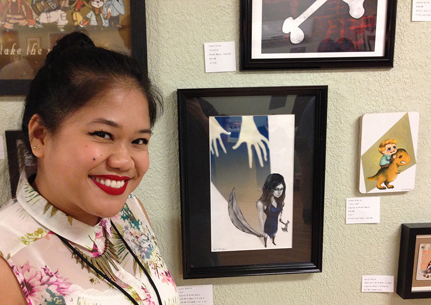 Please ignore my DERP face and hair. Much excite! Such happy! Very art!
