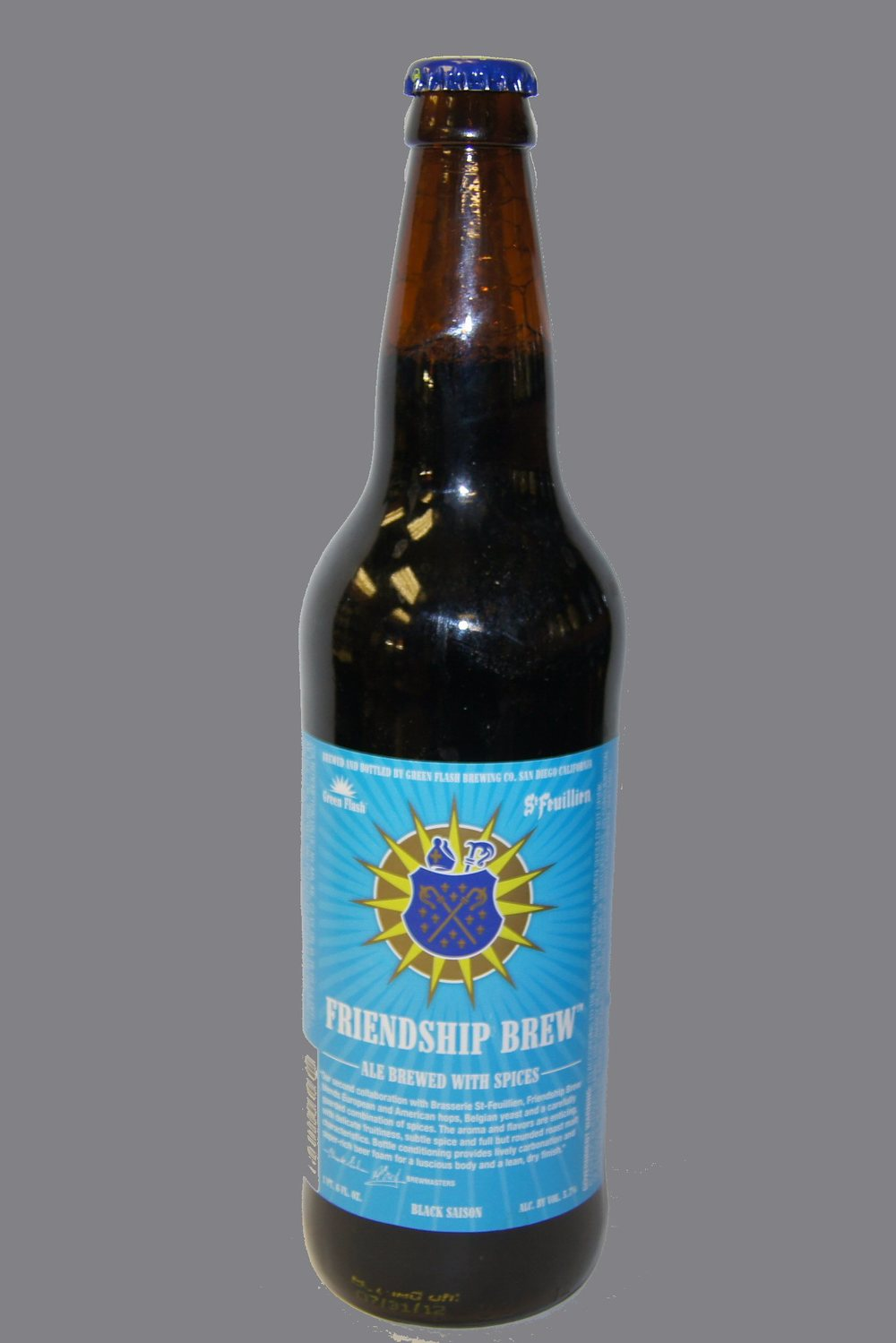 GREEN FLASH BREWERY,Friendship brew, Black Saison.jpg