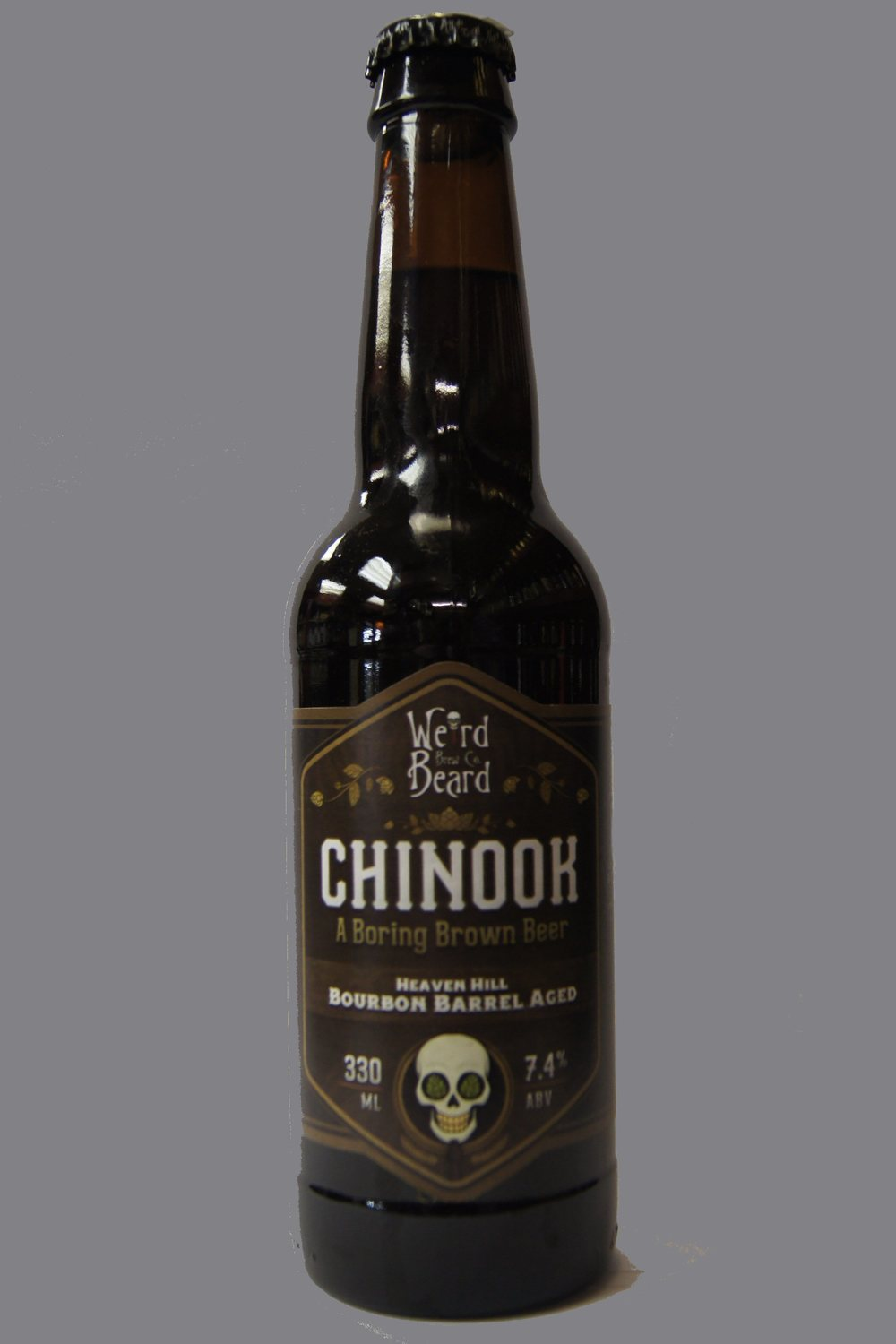 WEIRD BEARD BREW CO-Chinook Heaven Hill Bourbon Barrel Aged.jpg