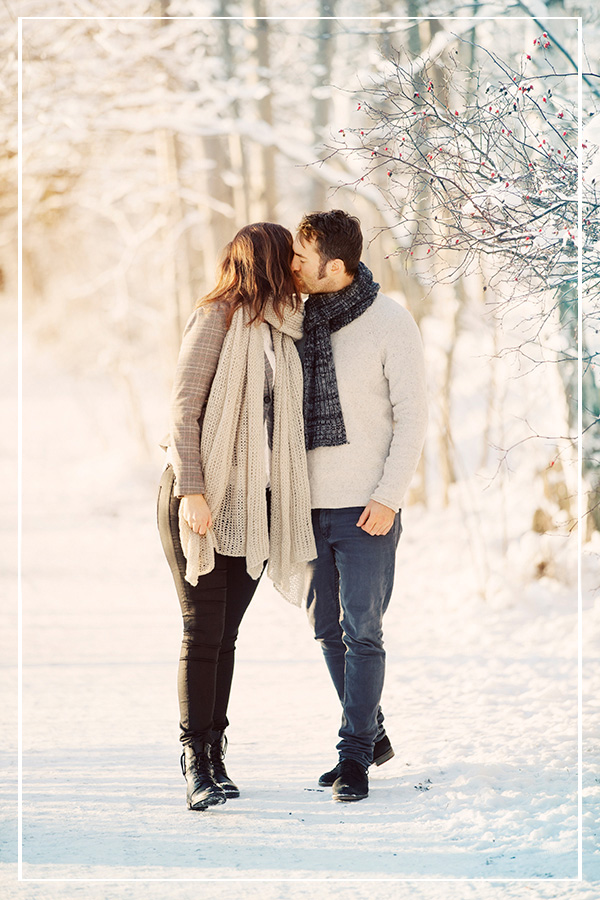 Sara & Daniel - Couple session Stockholm, December 2012 >