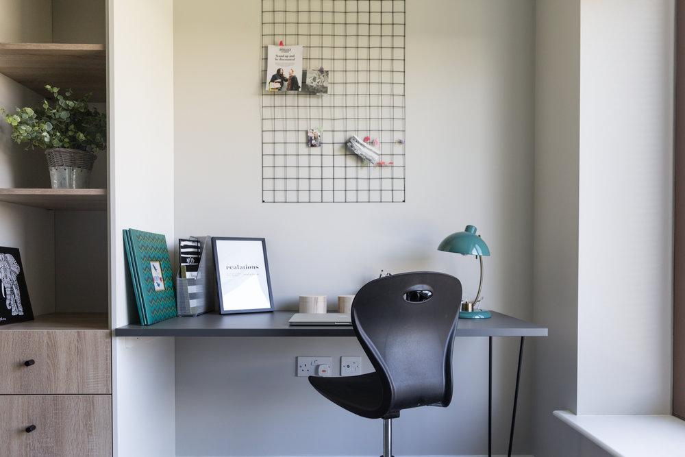 Student Accommodation Interior Photography