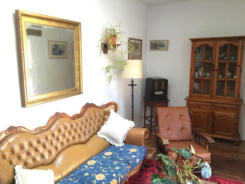 """Vista del otro lado de el """"Salón de estar""""."""