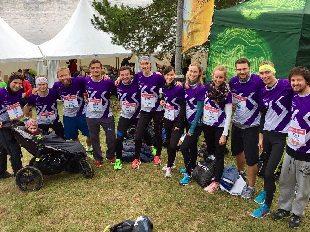 Náš Purple tým běžel minulý rok Vokolo Priglu. Přidáš se k nám tento rok i ty?