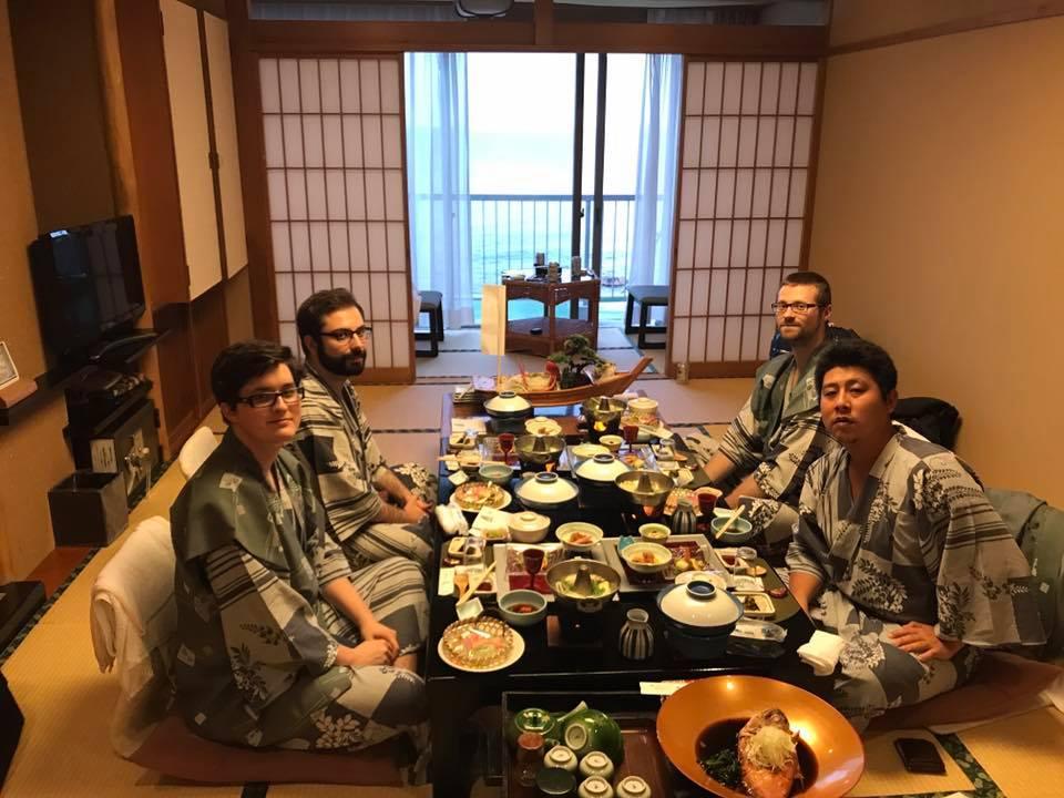 Tvůj tým na business meetingu v Japonsku. Jedeš příště s námi?