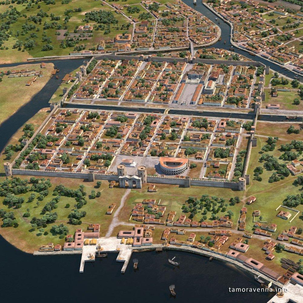 Ravenna capitale dell 39 impero romano b b casa masoli for Piani storici per la seconda casa dell impero