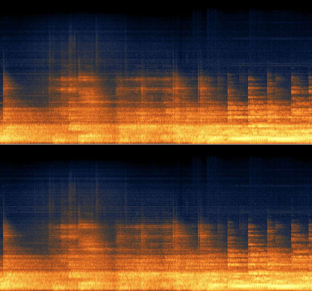 iZotope RX Spectragram